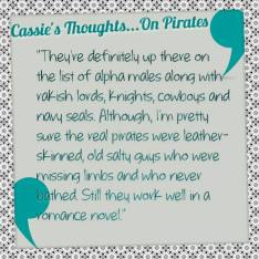 Cassie's thoughts... on pirates