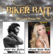 "Biker Bait Castien ""Cas"" Jackson and Alannah ""Barbie"" Blake by Ellie R. Hunter"