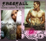 Scotlyn James and Nix Pierce Freefall by Tess Oliver