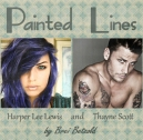 Harper Lee Lewis and Thayne Scott Painted Lines